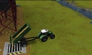 Landwirtschafts-Simulator 2012 3D: Screenshot aus der mobilen Bauern-Simulation