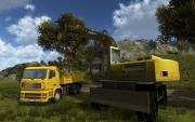 Baumaschinen-Simulator 2012: Screen zum Spiel.