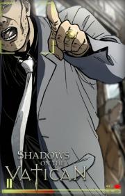Shadows on the Vatican: Screen zum Indi Adventure, welches in 4 Akten erscheinen wird.