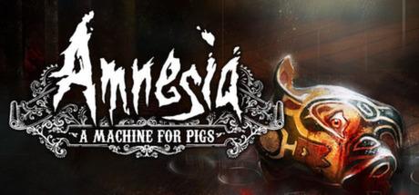 Logo for Amnesia: A Machine for Pigs