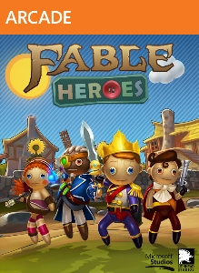 Logo for Fable Heroes