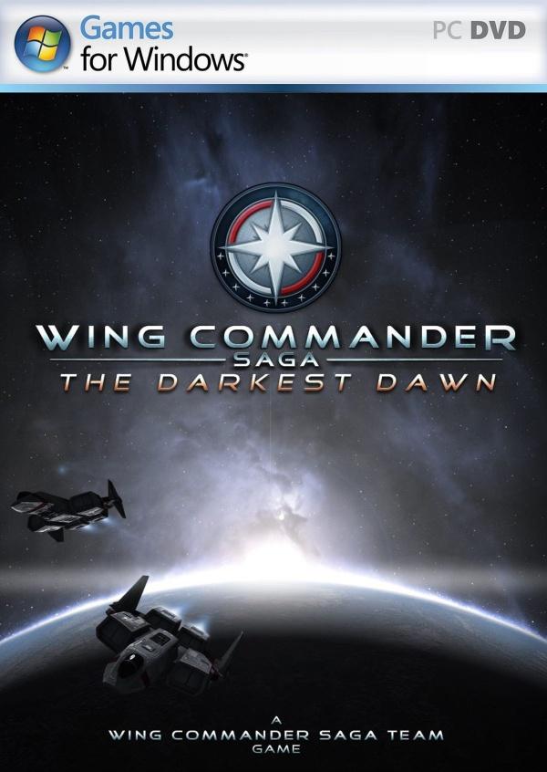 Logo for Wing Commander Saga: The Darkest Dawn