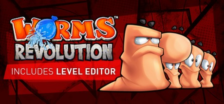 Logo for Worms Revolution