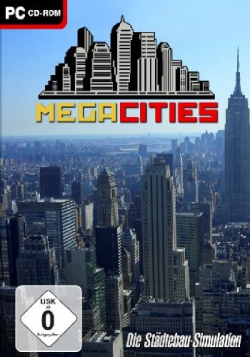Logo for Mega Cities - Die Städtebau-Simulation