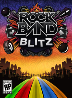 Logo for Rock Band Blitz