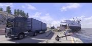 Scania Truck Driving Simulator: Screenshot aus der fast fertigen Version des Spiels