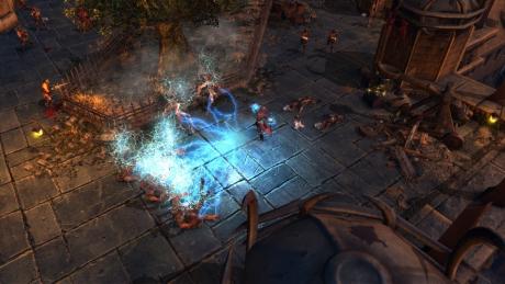 Realms of Ancient War: Screen zum Spiel.
