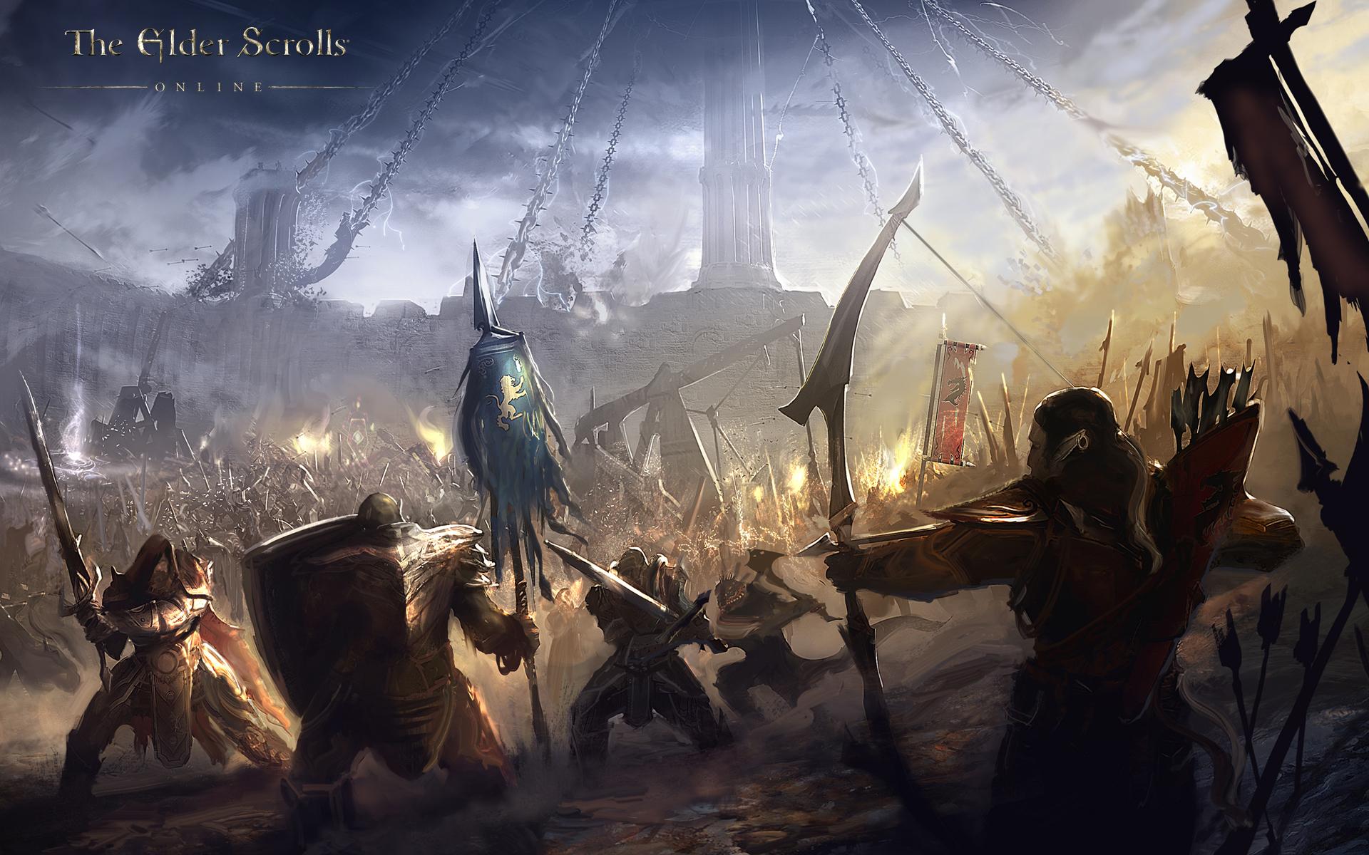 The Elder Scrolls Online: Neue Wallpaper zum Online Spiel.