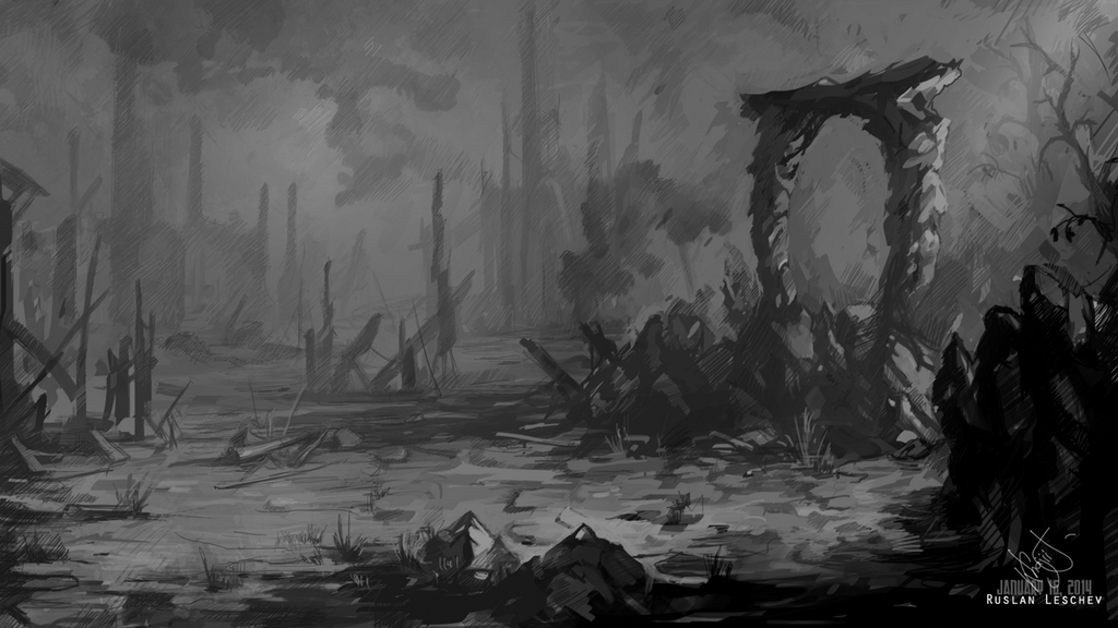 The Elder Scrolls Online: KhajiitSawyer's haunting illustration