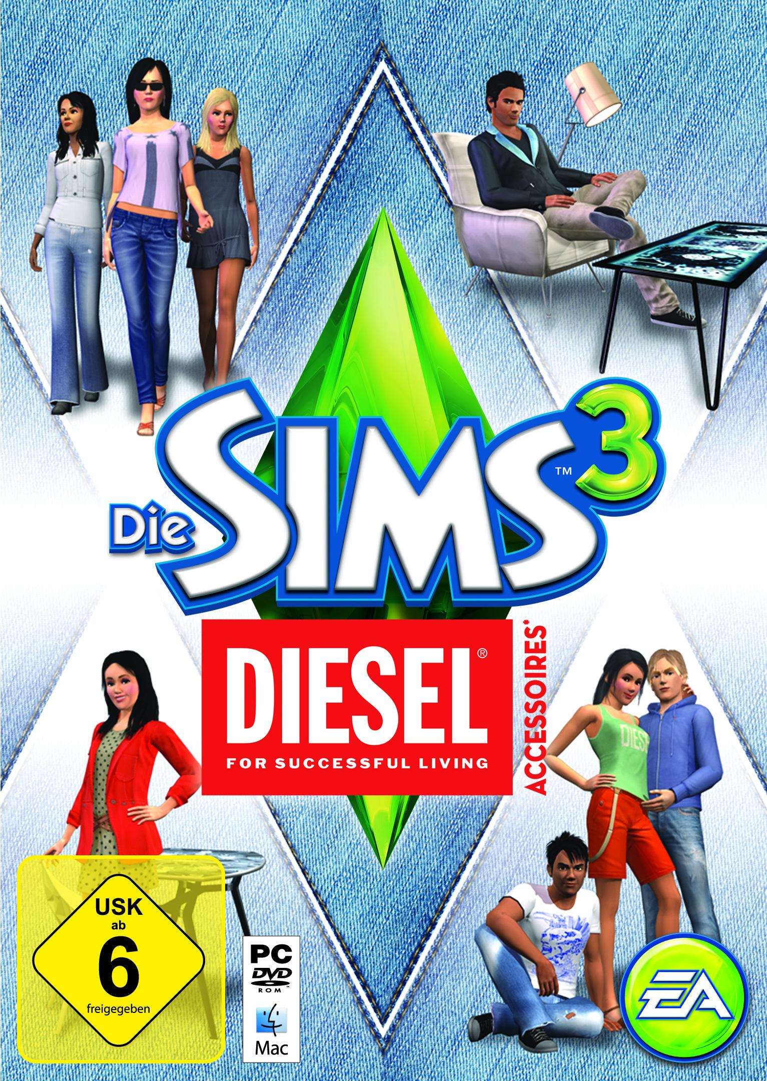 Die Sims 3 Diesel-Accessoires-Pack