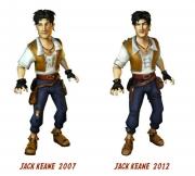 Jack Keane und das Auge des Schicksals: Jack Keane im Wandel der Zeit.
