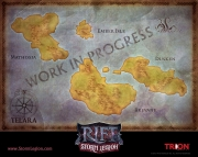 Rift: Storm Legion: Erster Screen zur Weltkarte des Addons.