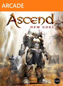Logo for Ascend: New Gods