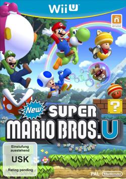 Logo for New Super Mario Bros U