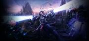 Tryst: Hintergrund Screen zum Science-Fiction Echtzeitstrategie Titel.