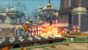 PlayStation All-Stars Battle Royale: Screenshot aus der Vita-Fassung des Titels