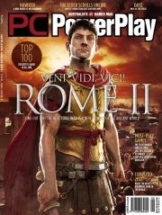 Total War: Rome 2: PC PowerPlay Cover zum kommenden Strategiespiel