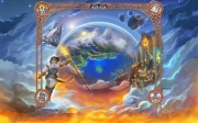 Ultima Forever: Quest for the Avatar: Background Screen der offiziellen Webpage.