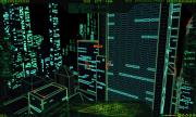 Vektropolis: Screen zum Arcade Game im 80er Jahre Stil.