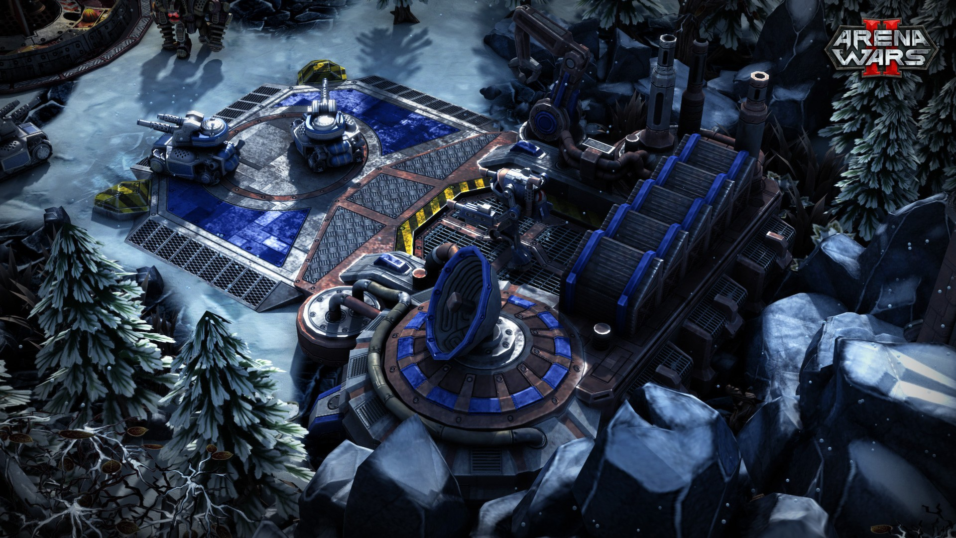 Arena Wars 2: Screenshot aus dem Strategiespiel