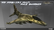Frontlines: Fuel of War: Frontlines: Fuel of War - RS MRB-131 Bomber Jet