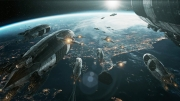 Iron Sky: Invasion: Screenshot aus dem Space-Shooter