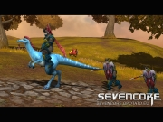 Sevencore: Offizieller Screen zum Free2Play Reitaction-MMORPG.