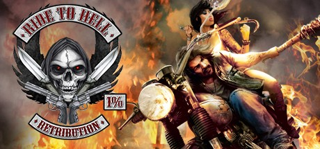 Logo for Ride to Hell: Retribution