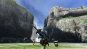 Monster Hunter 3 Ultimate: Screenshot aus dem Action-Rollenspiel