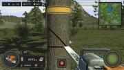 Holzfäller Simulator 2013: Screen zum Spiel.
