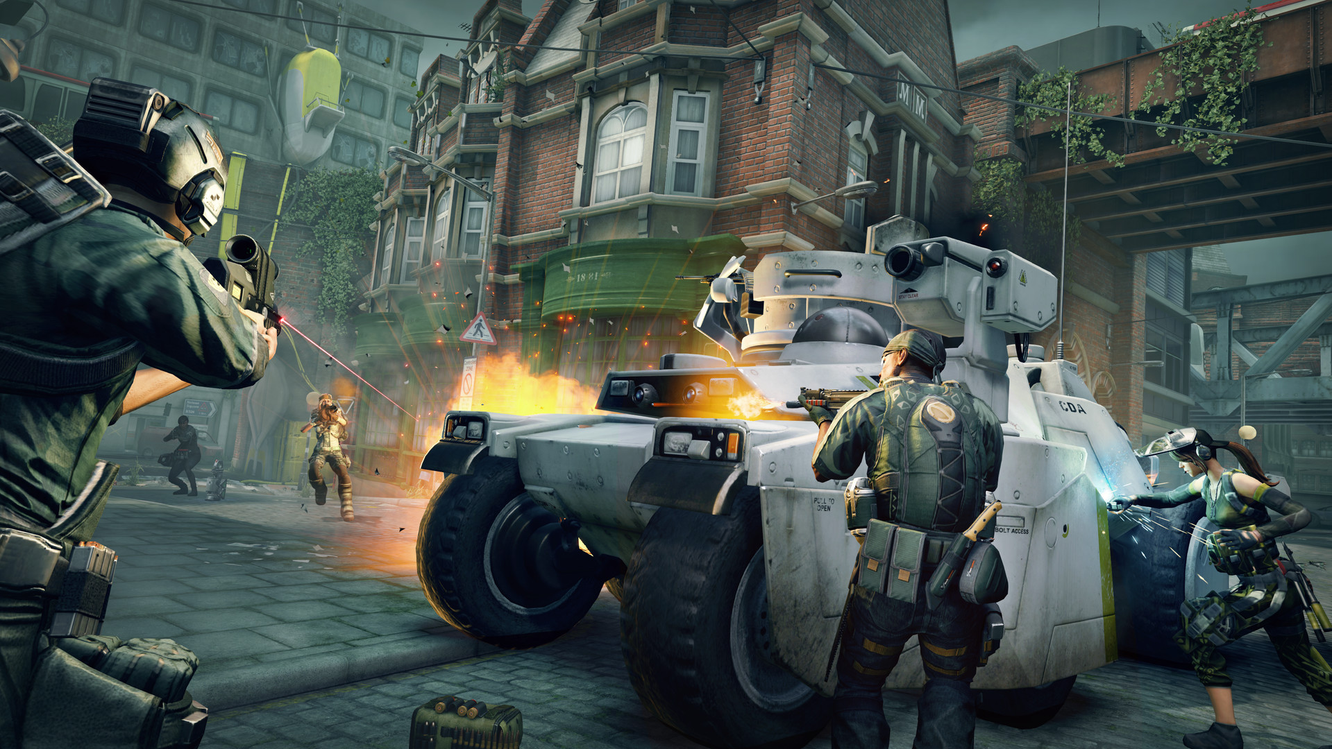 Dirty Bomb: Screenshot zum Titel.