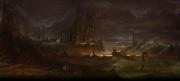 Aarklash: Legacy: Concept Art zum Taktik Adventure.
