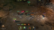 Aarklash: Legacy: Gameplay Screens zum Action-Strategie Titel.