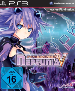 Logo for Hyperdimension Neptunia Victory