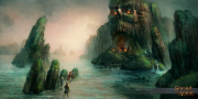 Shroud of Avatar: Screen zum Kickstarter Projekt.