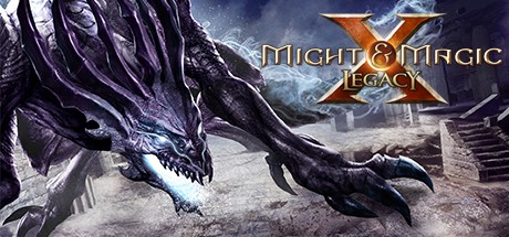 Logo for Might and Magic X Legacy