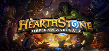 Logo for Hearthstone: Heroes of Warcraft