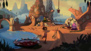 Broken Age: Screen zum Adventure.