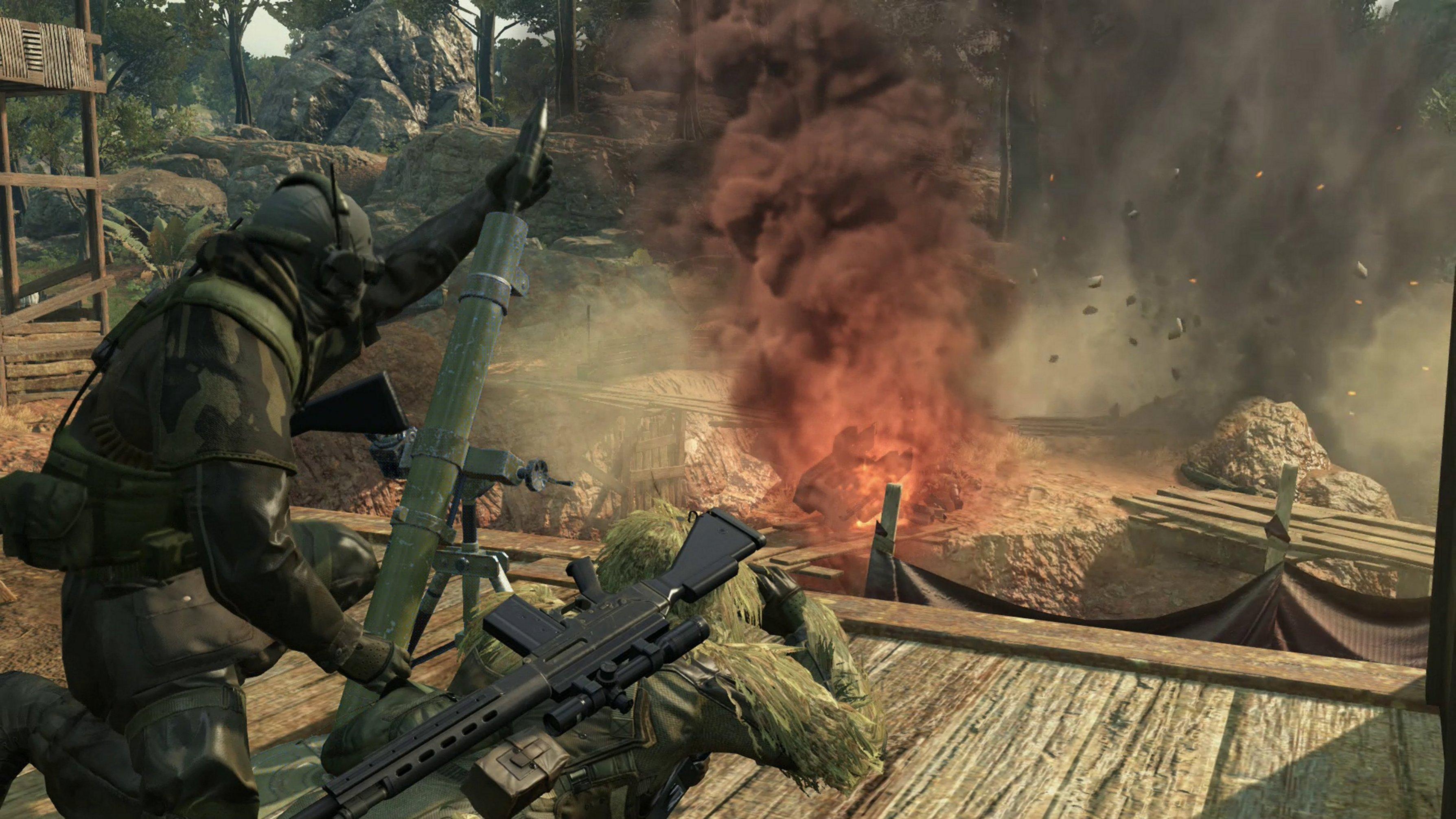 Metal Gear Solid V: The Phantom Pain: METAL GEAR ONLINE