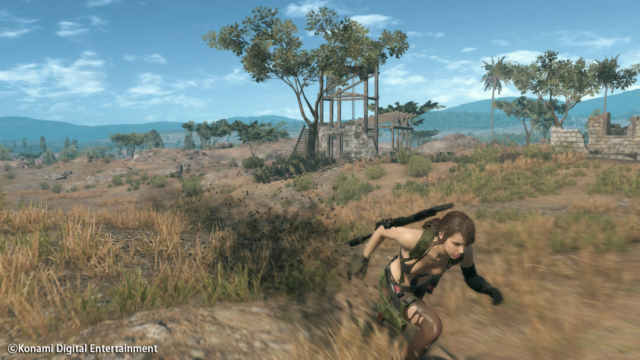 Metal Gear Solid V: The Phantom Pain: Cloaked in Silence