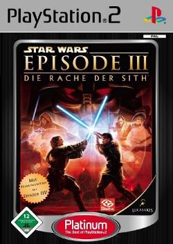 Logo for Star Wars Episode 3 - Die Rache der Sith
