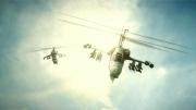 Thunder Wolves: Screen zur Helikopter-Action.