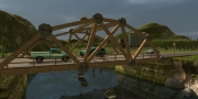 Bridge Project: Offizieller Screen zur Simulation.
