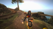 Motocross Madness: Offizieller Screen zum Arcade Game.