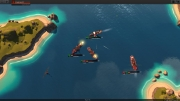 Leviathan: Warships: Screen aus dem Echzeitstrategie Titel.