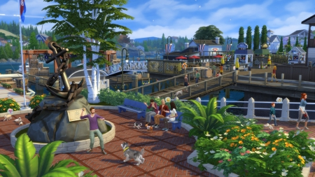 Die Sims 4 - Gameplay-Trailer zur Cats and Dogs Erweiterung online