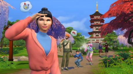 Die Sims 4 - Winterurlaub mal anders - Die Sims 4 Ab ins Schneeparadies erscheint am Mitte November