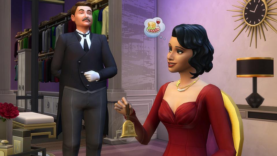 Die Sims 4: Vintage-Glamour-Accessoires