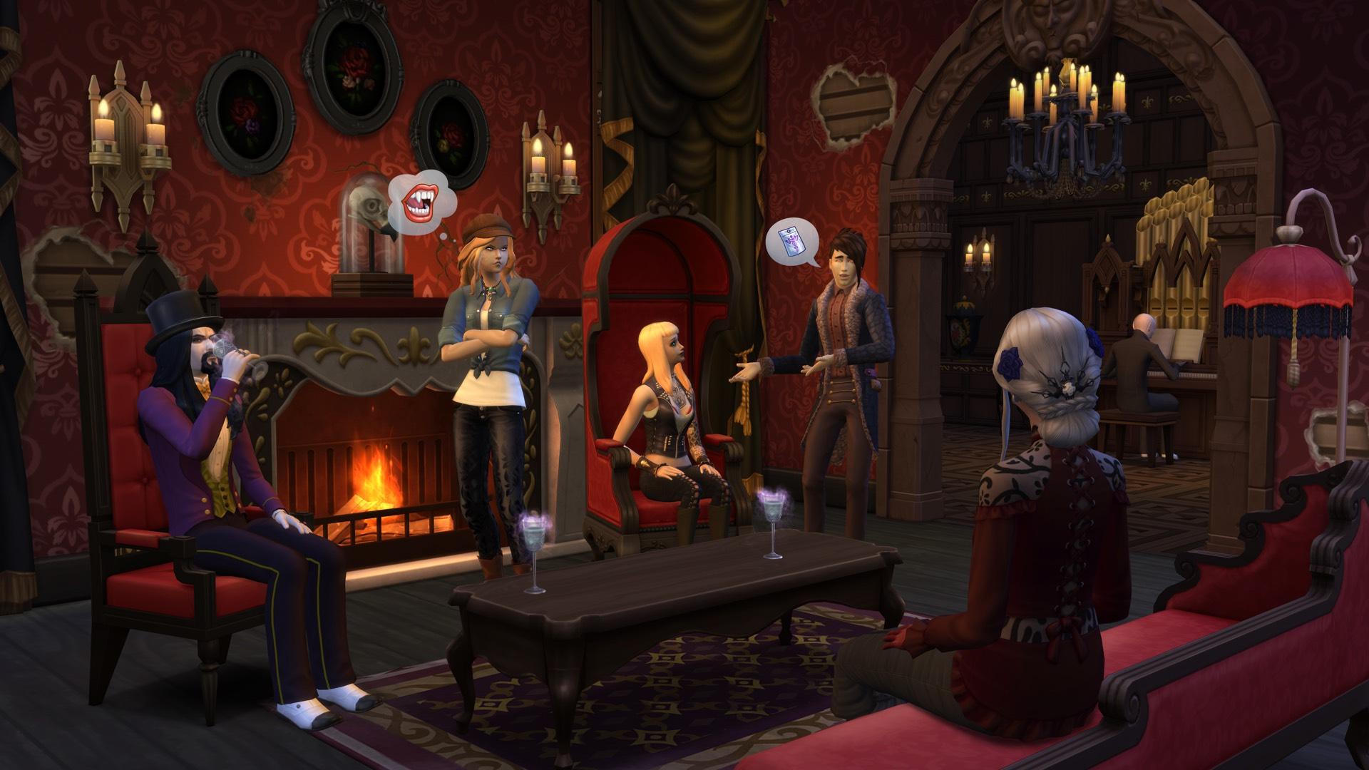 Die Sims 4: Vampire - Gameplay Pack