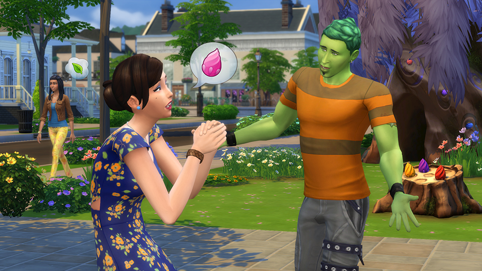 Die Sims 4: Die Sims 4-PflanzenSim-Herausforderung